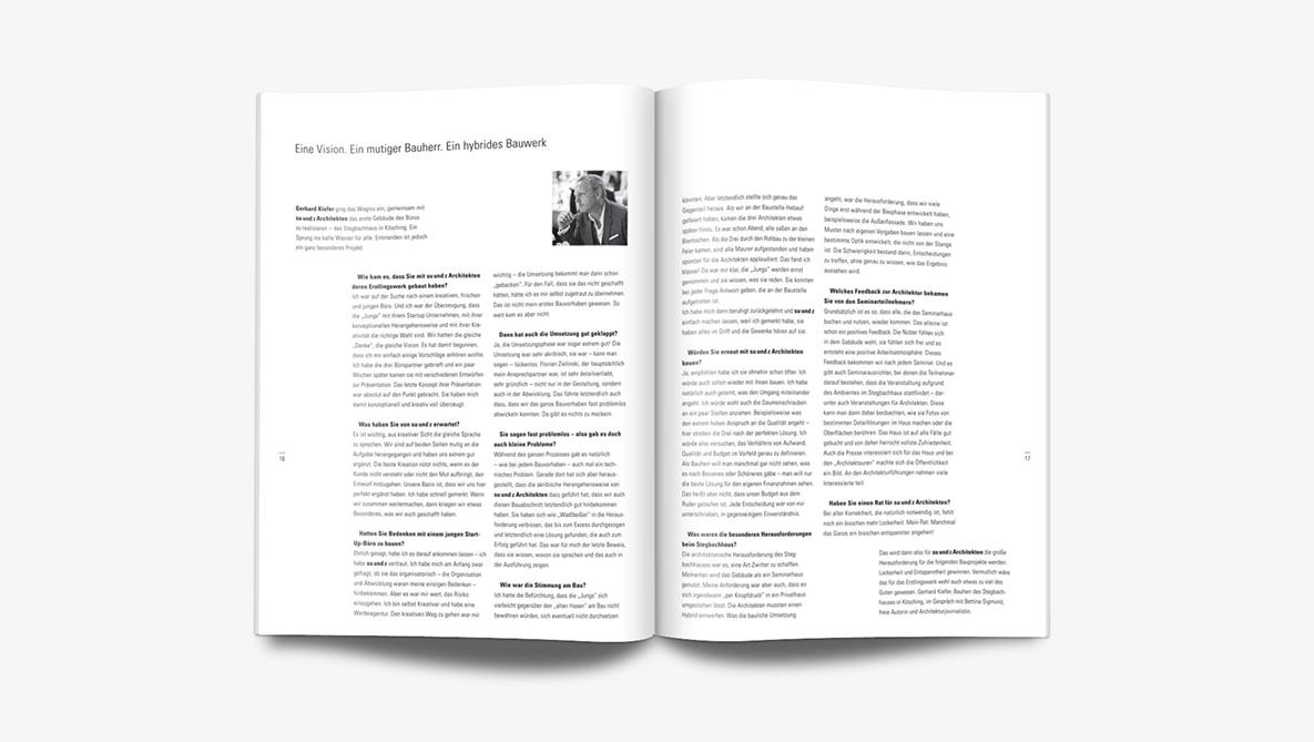 Magazin su und z Architekten