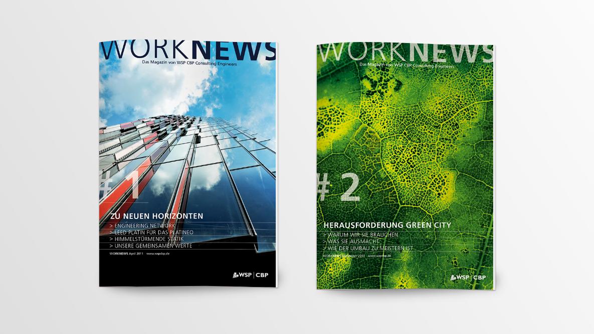 WSP Kundenmagazin