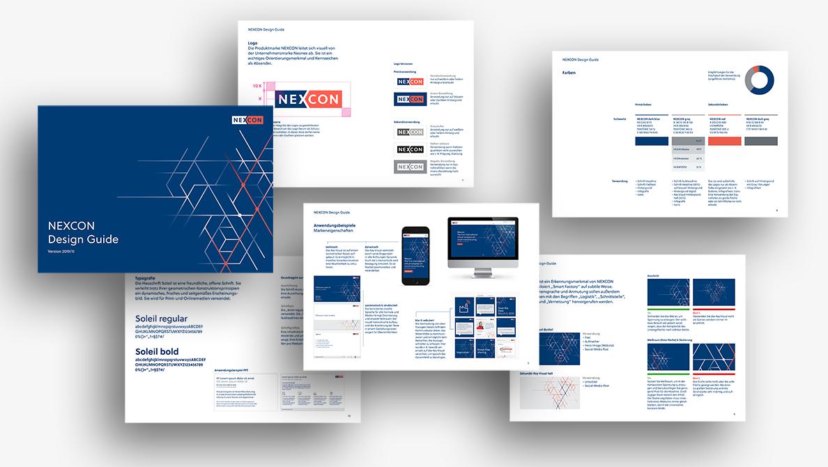 Nexcon Corporate Design Manual